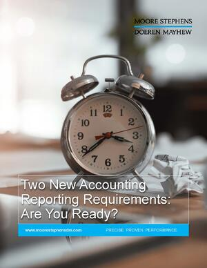 Ebook cover Two New Financial Reporting Requirements Are You Ready
