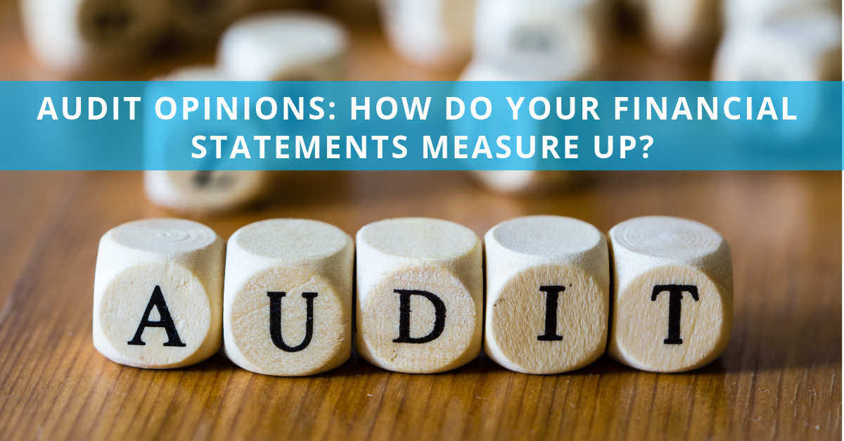 Audit Opinions: How Do Your Financial Statements Measure Up?