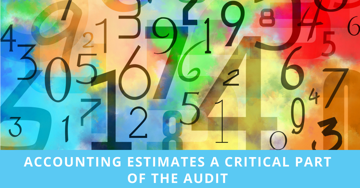 MSDM LinkedIn post - accounting estimates